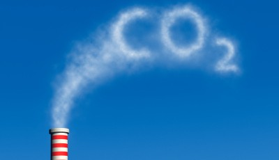 Co2 spelled in pollution