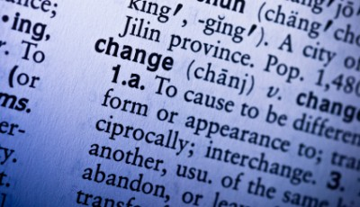 change definition in dictionary