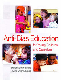 Book cover: Anti-bias education