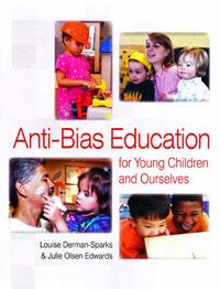 Book cover: Anti-bias education