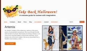 screenshot from Take Back Halloween
