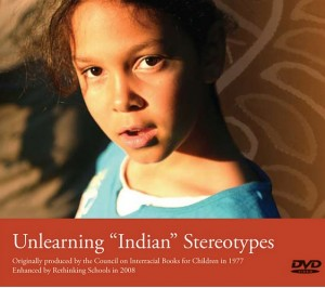 "DVD cover: Unlearning ""Indian"" Stereotypes"