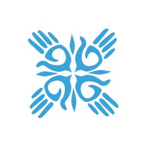 IHE-knockout-logo-withtype-blue