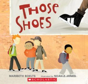 Book cover: Those Shoes