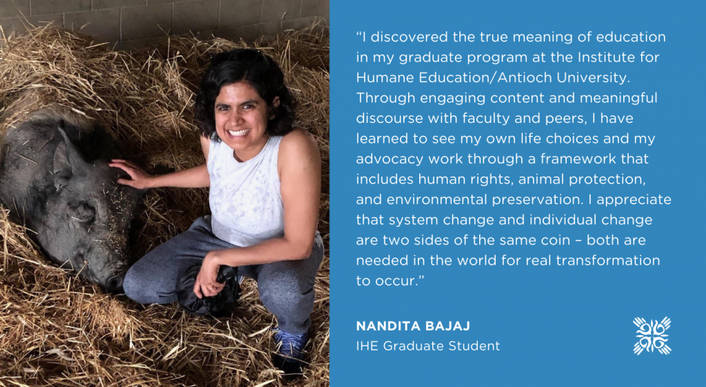 Animal Rights Graduate Program Institute for Humane Education